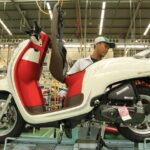 "Tampilan Honda Scoopy ""Stylish White Red"". (Foto AHM)"