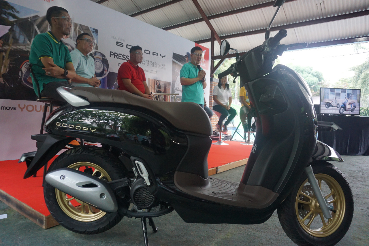 All New Honda Scoopy 2020. (Din)