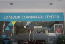 Lombok Command Center. (ist)