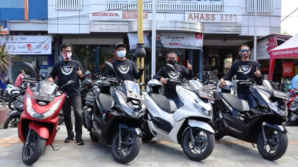 Peserta rolling city with All New PCX 160. (Dokumen Astra)
